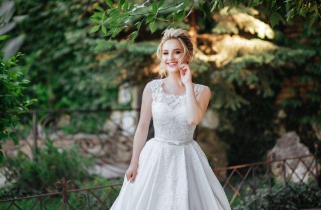Suknia zakupiona w salonie sukien ślubnych Bella Rossa